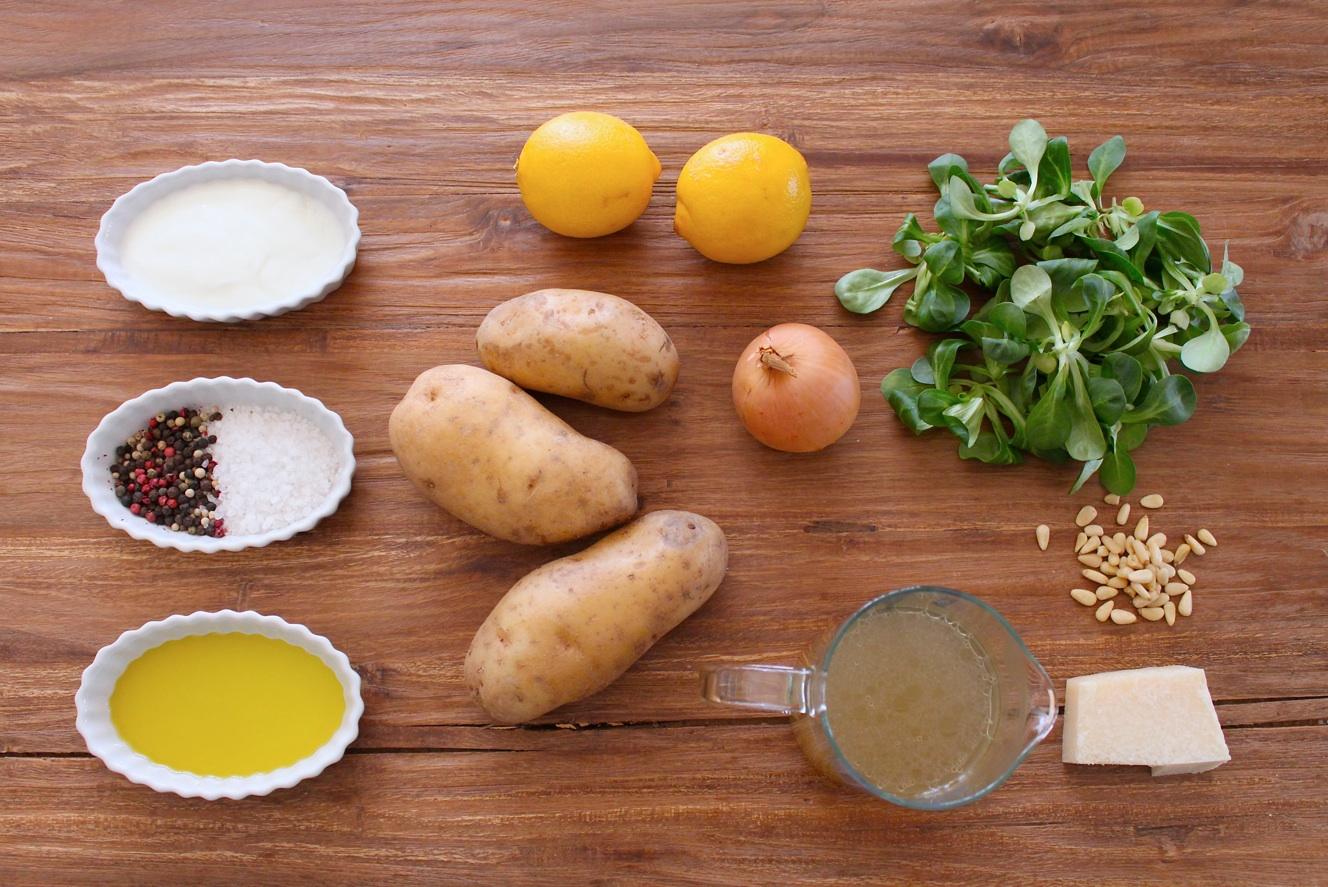 Kartoffelsuppe mit Pesto