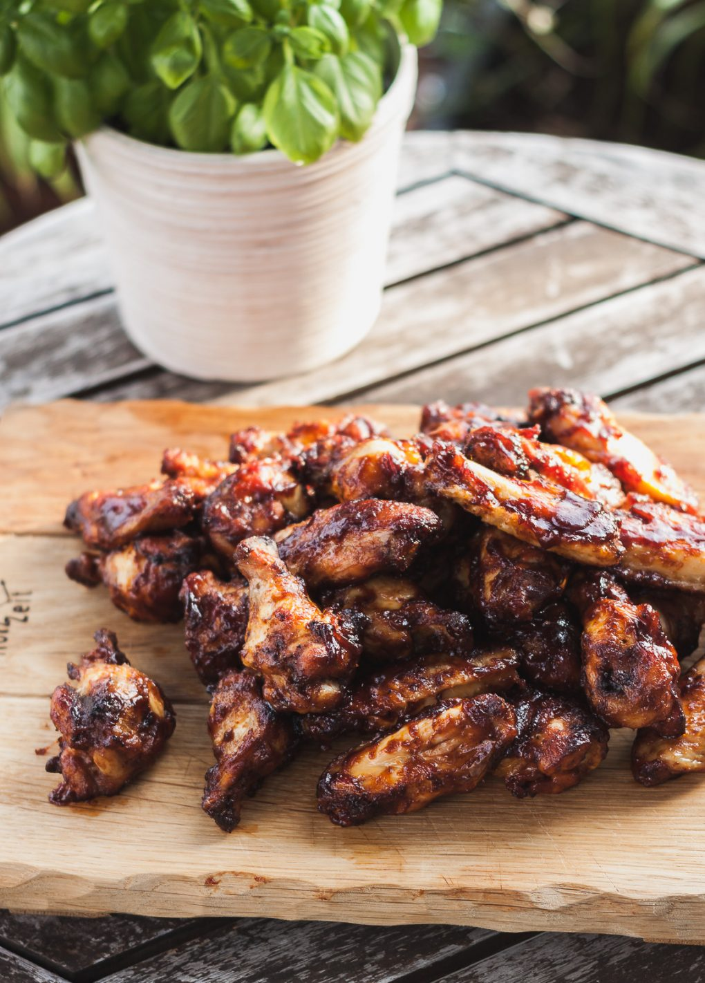Chicken Wings BBQ Style