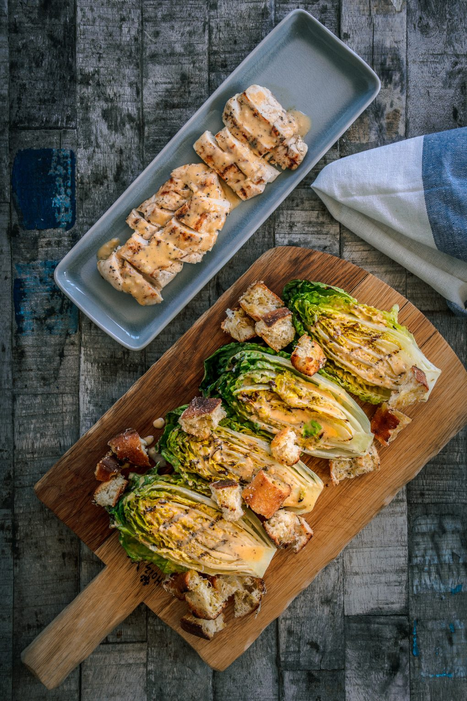Caesar Salad mit Hühnerbrust