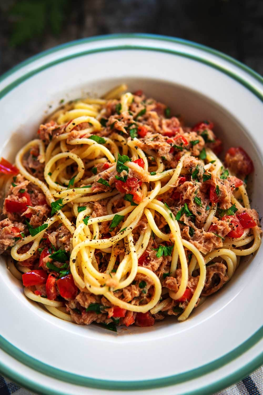 Thunfisch Sauce Pasta
