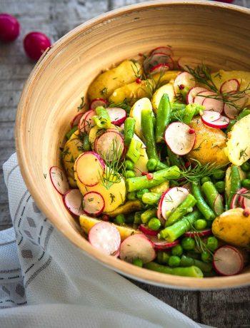 Sommer Kartoffelsalat vegan